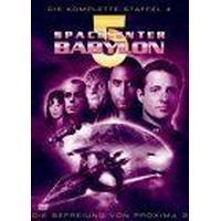 Spacecenter Babylon 5 - Staffel 4 (Box Set) [DVD]